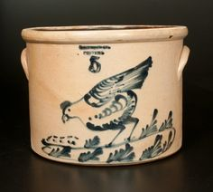 5 Gal. WEST TROY / POTTERY Stoneware Cake Crock