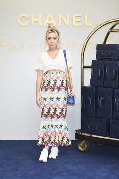 Fashion Director Alisa Ueno attends the CHANEL Metiers D'art Collection Paris Cosmopolite show at the Tsunamachi Mitsui Club on May 31, 2017 in Tokyo, Japan.