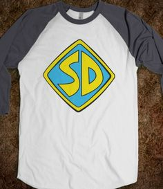 Scooby Doo shirt. I want this because #1 SD are my initials, and #2 turquoise and yellow are my favorite colors.