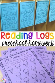 TEACH YOUR CHILD TO READ - Free Reading Logs for preschool (the perfect homework for little learners) A fun way to get kids to read more at home! - Super Effective Program Teaches Children Of All Ages To Read. Home Reading Log, Reading Logs, Kids Reading, Teaching Reading, Free Reading, Guided Reading, Reading Workshop, Reading Rewards, Reading Lessons