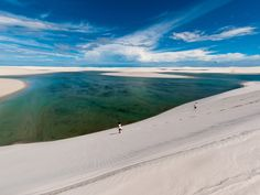Why we love it: A national park located in northeastern Brazil comprising blindingly white sand dunes,   Lençóis Maranhenses draws locals and far-flung travelers alike for its semi-permanent beaches: During the wet season, rainwater pools in dune valleys, which means hunting for a deep enough lagoon is part of the fun.