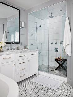 120 Stunning Bathroom Tile Shower Ideas (113)