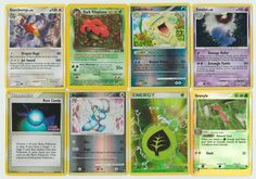 Pokemon lot of 8 cards WITH RARES ALL PICTURED Not Perfect with Garchomp