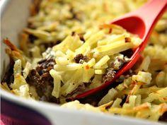Juustoinen porokiusaus Pasta Salad, Mashed Potatoes, Casserole, Cabbage, Good Food, Healthy Recipes, Healthy Food, Vegetables, Ethnic Recipes