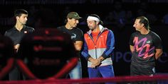 Tennis stars bid farewell to Nicolas Massu