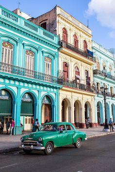 Cuba's capital Havana seen through the eyes of a travel writer and photographer. Cuba's capital Havana seen through the eyes of a travel writer and photographer. Havana Cuba, Havana Vieja, Beautiful Buildings, Beautiful Places, Cuba Itinerary, Great Places, Places To Visit, Zona Colonial, Spanish Colonial