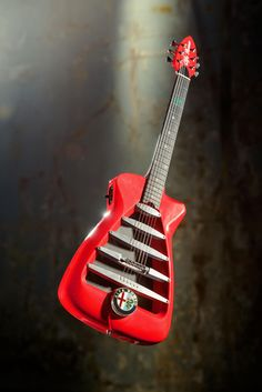 Limited edition electric guitar inspired by Alfa Romeo was created by Harrison Custom Guitar Works