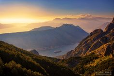 the bay of kotor by linsenschuss