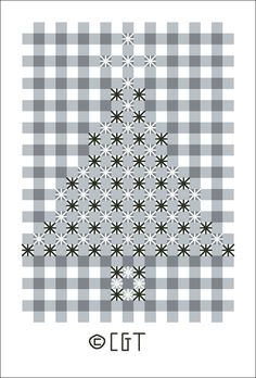 This free pattern is protected by copyright laws. If someone wants a copy, please direct them to this URL - http://crossstitch.about.com/od/chickenscratch/ig/Chicken-Scratch-Patterns/