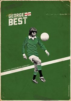 George Best, Manchester United and Northern Ireland.