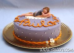 Rhythmic Gymnastics Cake - Tarta gimnasia rítmica