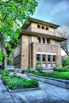 47 Frank Lloyd Wright Architecture Frank Lloyd Wright Architecture) design ideas and photos Prairie Style Architecture, Architecture Design, Organic Architecture, Classical Architecture, Amazing Architecture, Architecture Definition, Computer Architecture, System Architecture, Historic Architecture