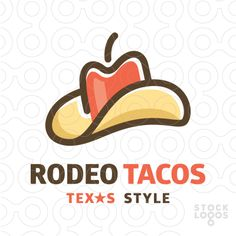 Rodeo Tacos logo by paint.box!