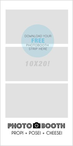 This is a 10x20 photoshop template to use to create your own photobooth sign. A few days before our party, I took photos of my daughter in front of the backdrop and had this printed as a mounted 10x20 print so that it would stand up by itself on an easel. DOWNLOAD HERE