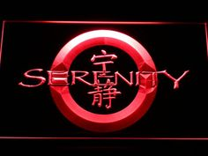 Firefly Serenity LED Neon Light Sign Wholesale Dropshipping On/ Off Switch 7 colors DHL