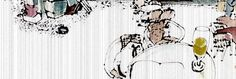 """La Máquina de Hacer Turcos de Ezequiel Cabanelas en Ediciones SK. El lugar es un café de la calle Esmeralda, pleno microcentro porteño. Sentados en una mesa del fondo, pulcramente vestidos de saco y corbata, desafiando los treinta y cuatro grados de infierno argentino, se encuentran Suárez y el gordo Fernández. Pertenecen ambos a esa ubicua clase de individuos comúnmente llamados """"ñoquis"""", pero cuya entidad es mucho más difusa..."""