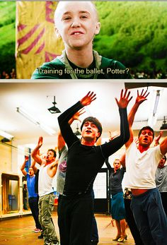 No Malfoy. BROADWAY.  ^I just like the comment ;D