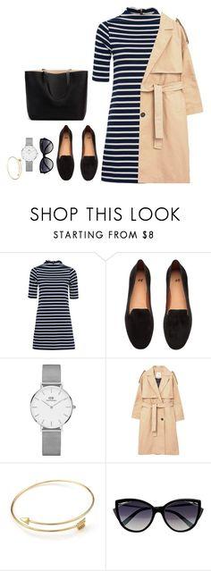 """Shopping"" by fatyespinosa1 on Polyvore featuring moda, French Connection, H&M, Daniel Wellington, MANGO y La Perla"