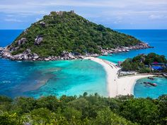 Koh Nangyuan - Thailand most beautiful place in the world