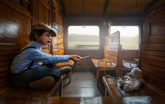 Traintrip by Adrian Sommeling