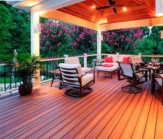 Välj träkomposit och praktiska TimberTech när du planerar din uteplats eller nya altan. Lång hållbarhet och minimalt underhåll!