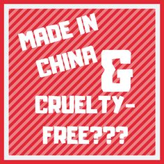 If a cosmetics product is made in mainland China, then can that product be considered cruelty-free? Or does it need to be tested on animals? I will answer this big question in my article on the latest animal testing laws from mainland China. Animal Testing, Vegan Beauty, Beauty Routines, Cruelty Free, China, Cosmetics, This Or That Questions, Big, How To Make