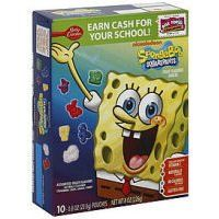 SPONGEBOB FRUIT SNACK 10 POUCHES /BOX(2 BOXES): Amazon.com: Grocery  Gourmet Food