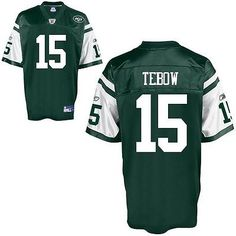 NFL New York Jets Tim Tebow American Football Shirt Jersey  6dab8203d