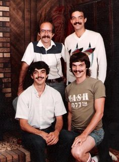 The first rule of Mustache Club– you talk about Mustache club.