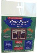 Pro-pest Clothes Moth Traps by Pro Pest. $13.85. Ready to use. Non-Toxic no pesticides. 2 traps per pack. Last 3 Months!. ProPest Pheronet Clothes Moth Traps will lure and kill webbing cloth moths, the most common type of clothes moth. Protect your wool fabrics and clothes, persian/oriental rugs, furs, feathers and other fine products.