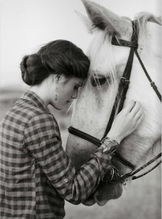 vintage and horses