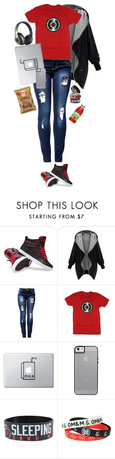 """""""Strider"""" by mimikyu ❤ liked on Polyvore featuring Hot Topic and Beats by Dr. Dre"""