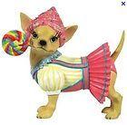 Aye Chihuahua Candy Stripe Figurine 13362 NIB - http://cutefigurines.net/aye-chihuahua/aye-chihuahua-candy-stripe-figurine-13362-nib-2/