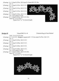 ru / Фото – Tatting Lace oryginals – mula … – My Unique Wardrobe Shuttle Tatting Patterns, Needle Tatting Patterns, Crochet Doily Patterns, Crochet Doilies, Stitch Patterns, Tatting Jewelry, Tatting Lace, Tatting Tutorial, Lacemaking