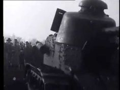 Tank in actie 1930 . - YouTube