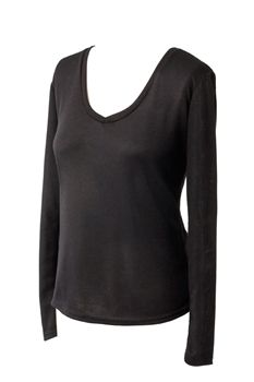 A breathable and comfortable shirt regulating body temperature and helping you to feel your best. Comes in a popular v-neck style. Draper Body Therapy® Ladies Longsleeved T-Shirt made with Celliant -  $59.00
