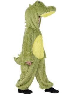 Lasten Naamiaisasu; Krokotiili  Lasten Krokotiilin asu. Hirmuinen krokotiili, apua… #naamiaismaailma