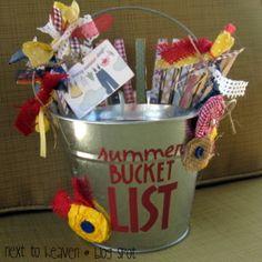 Next To Heaven: Summer Bucket List