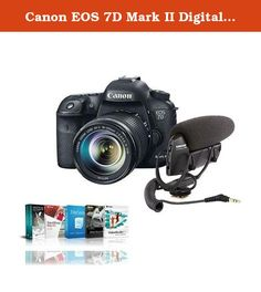 Canon EOS 7D Mark II Digital SLR Camera with EF-S 18-135mm IS STM Lens Kit - Bundle with Shure VP83 LensHopper Camera-Mount Condenser Microphone, Adorama Pix 10x10 Photo Book Coupon Code (50 Pages). The Canon EOS 7D Mark II Digital SLR Camera with EF-S 18-135mm IS STM Lens Kit has a newly designed 20.2 Megapixel sensor that delivers high-resolution image files with stunning detail and impressive clarity. Optimized for low-light shooting, the EOS 7D Mark II's sensor captures images at up…