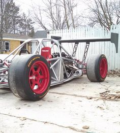 ls powered twin turbo single seat hot rod built by LoveFab inc - Promoted by The Fab Forums