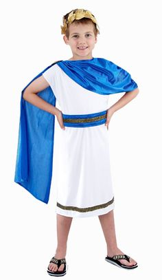 For kings - add trim to bottom of tunic with band to match velvet capes