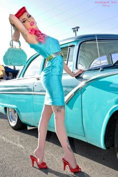 Pin up chicky| Pinup Girl  http://thepinuppodcast.com features pinup models and pin up photographers.