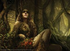 Physis/Protogeneia (Natura) - the primordial goddess of the origin and ordering of nature