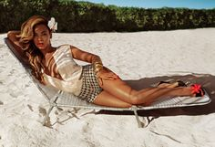 Heres an image from Beyonces new ad campaign for H | Beyonce Is Now An HMModel