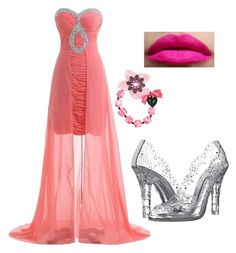 """Pretty in pink"" by lorena-cuttler on Polyvore featuring Dolce&Gabbana and Tarina Tarantino"