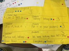 The students power voted using sticky dots to choose the attention-getting signal they wanted their teacher to use. Student Voice, School Stuff, The Voice, Students, Dots, Classroom, Teacher, Let It Be, Sayings