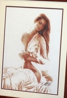 Gallery.ru / Фото #21 - S-3 - dawndawn Hobbies And Crafts, Diy And Crafts, Cross Stitch Angels, Le Point, Portraits, Cross Stitching, Cross Stitch Patterns, Needlework, Quilts