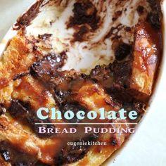 Chocolate Cinnamon Bread Pudding Recipe - What's For Dessert Cinnamon Bread Pudding Recipe, Chocolate Bread Pudding, Pudding Recipes, Fondue Recipes, Copycat Recipes, Ice Caramel Macchiato, Caramel Frappuccino, Yule, Oreo Cake Pops