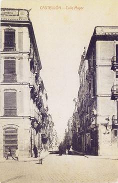 Carrer Major. Cantó Porta del Sol.1913- Castelló.