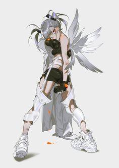 Mai Yoneyama on - Illustrationen Stil - Arte Female Character Design, Character Design References, Character Design Inspiration, Character Concept, Character Art, Animation Character, Character Sketches, Art Anime, Anime Art Girl